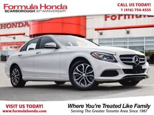 2016 Mercedes-Benz C-Class $100 PETROCAN CARD YEAR END SPECIAL!