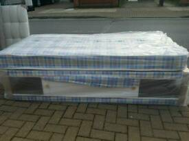 BRAND NEW SINGLE BED SET WITH SLIDESTORE. FREE DELIVERY
