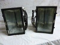 2 x wall mounted infra red heaters