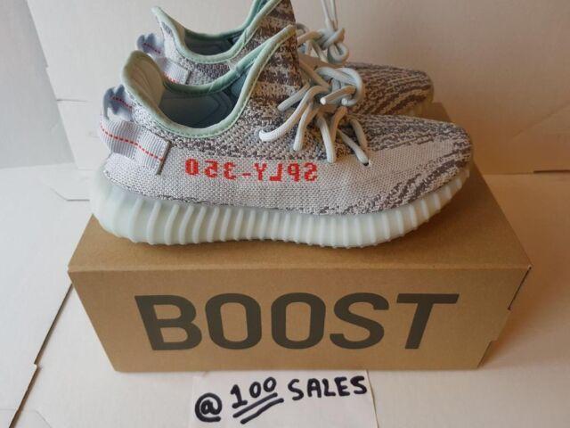 89da460b941a7f ADIDAS x Kanye West Yeezy Boost 350 V2 BLUE TINT Grey Blue UK5   EU38  B37571 ADIDAS RECEIPT 100sales
