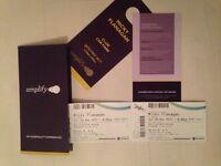 2x Micky Flanagan Tickets - VIP Hospitality - FRONT ROW