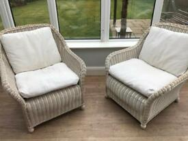 Habitat wicker chairs