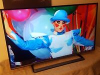 Panasonic 40 inch Full 1080p HD Smart LED TV with Freetime And Freeview (Model TX-40CS520B)!!!