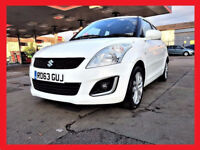 White -- Suzuki Swift 1.2 SZ3 -- Low 47800 Miles -- Nice and White --- Low Mileage