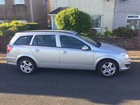 Vauxhaull Astra club estate for sale, very cheap road tax with 12 months MOT.