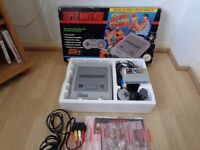 Fully Working boxed SNES street fighter 2 edition one controller great condition