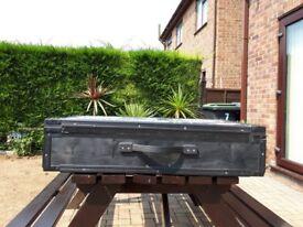 Black Flight Case or Secure Case - Hardwood Only £2