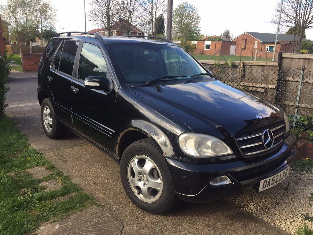Mercedes ML270 **SOLD PENDING COLLECTION**