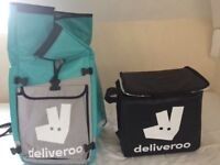 Deliveroo driver items