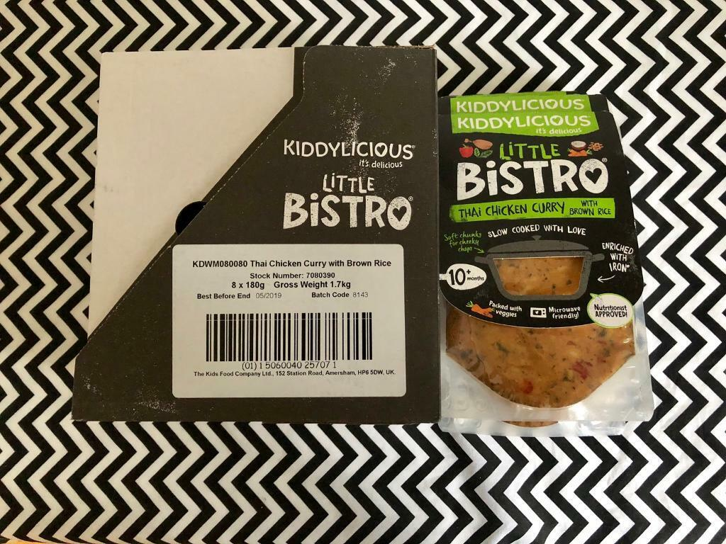 Kiddylicious little bistro Thai chicken curry with brown rice baby meals x  14 | in Crossgates, West Yorkshire | Gumtree