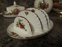 royal albert old country roses toast rack