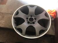 """19"""" staggered BMW tiger claw alloy wheels"""
