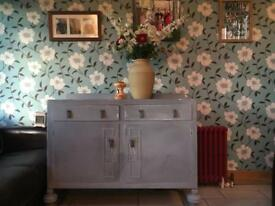 1950s shabby chic sideboard