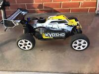 NITRO CAR 1:8 SCALE KYOSHO INFERNO 2.0 BUGGY CAR REMOTE CONTROL NITRO