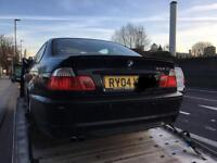BMW 3 Series 2004 325i breaking for parts. Rear M-sport bumper £265