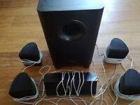 Pioneer S-11 5.1 surround sound speaker package