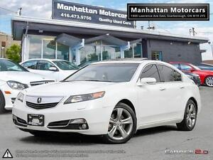 2012 ACURA TL TECH PKG SH-AWD |NAV|CAMERA|PADDLESHIFT|1 OWNER