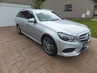 MERCEDES BENZ E220 BLUETEC AMG LINE *******ONLY 5500 MILES******