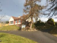 Plots for sale in Inverness plus bungalow.