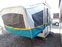 TENT TRAILER FOR RENT - SUPER LIGHT - Can be towed with a van!