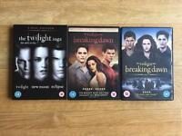Twilight Saga bundle - books and DVDs