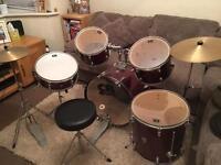 7 Piece CB Drum Kit
