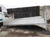 Transit lwb recovery plant body excellent body dropside 14ft