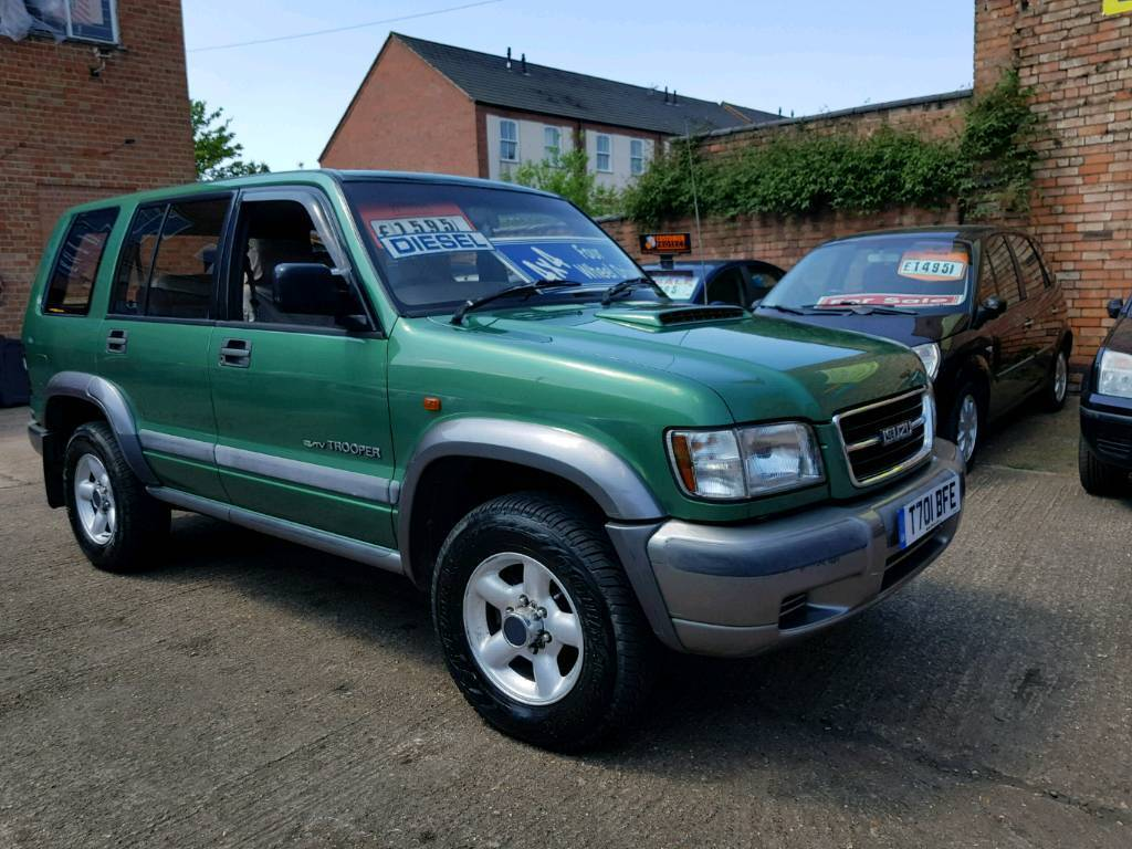 1999 Isuzu Trooper Duty DT LWB 4x4