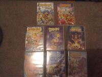 Scooby doo DVD's bundle