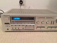 kenwood computerizet high speed stereo receiver model KR-850