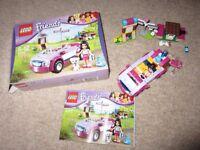 LEGO Friends 41013: Emma's Sports Car