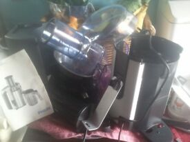 Philips Juicer 1861 USED TWICE brilliant condition can be seen working £49 (Nottm.)