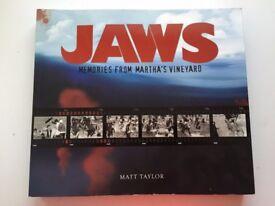 JAWS - memories from Martha's Vineyard - RARE BOOK