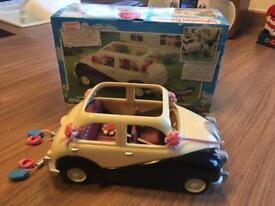 Sylvanlan families wedding car