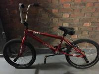 Red street bmx 20''