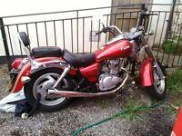 Sinnis Vista 125 Motocycle