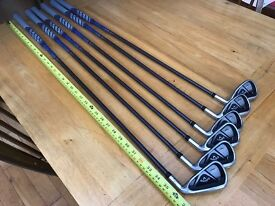 Callaway X Hot 2 irons Full junior Set