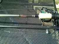 Fox Warrior deadbait rods