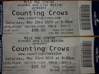 2 counting crows floor tickets