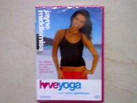 Yoga dvd NEW in cellophane wrapper
