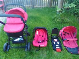 Travel System - Pushchair / Pram / Car seat