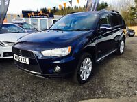 2012 Mitsubishi Outlander 7 Seater, 12 MONTHS WARRANTY, Finance Available