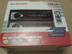 Brand New Car MP3 Player with USB/SD Port