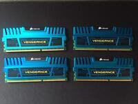Corsair Vengeance Ram DDR3 1600MHZ 4x4GB