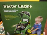 John Deere tractor engine take apart and rebuild New unopend