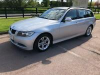 BMW 3 SERIES 318I SE TOURING AUTO 1 OWNER (silver) 2008