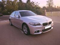 bmw 5 series 2.0 520d se 4 door msport upgrades!