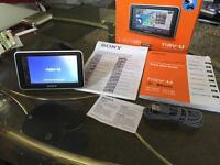"Sony sat nav-u 4.3"" wide display model number NV-U53 all the info is in the picture"