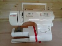 SINGER MODEL 6408 SEWING MACHINE DAMAGED FOR SPARES OR REPAIR