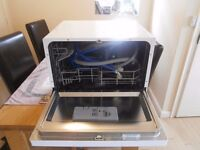 bush table top dishwasher... ideal for bungalow or caravan ,cottage new pipes and fittings
